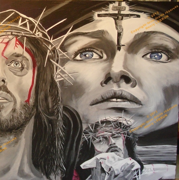 Olivia Hussey, Robert Powell, Jesus Christ by lhommeloiret